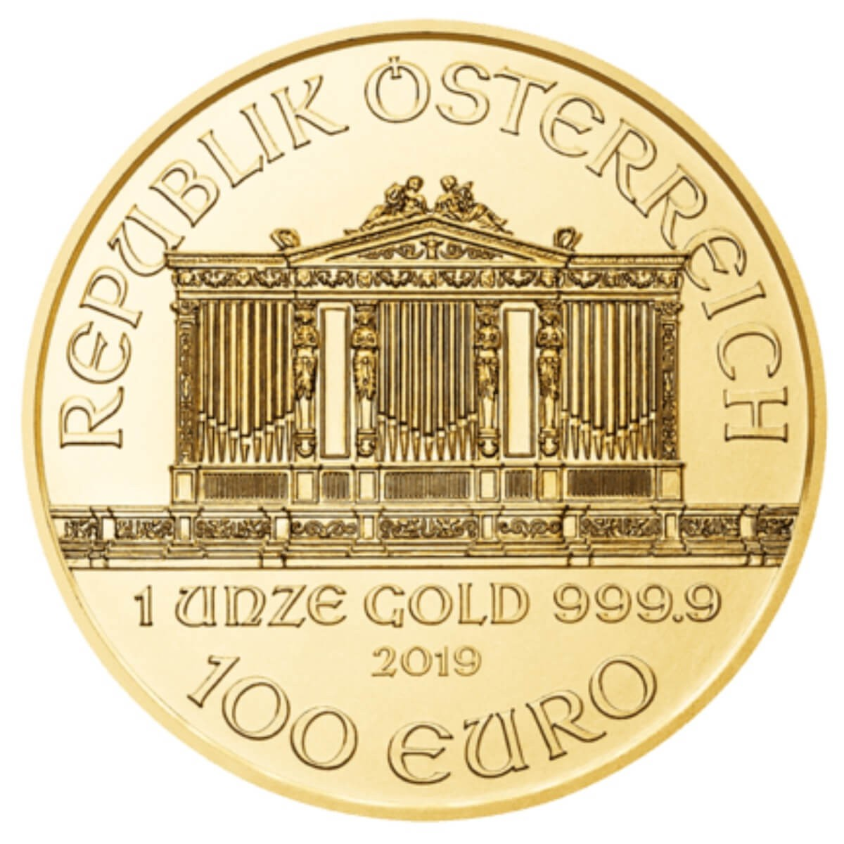 1 Ounce Gold Austrian Philharmonic 2019