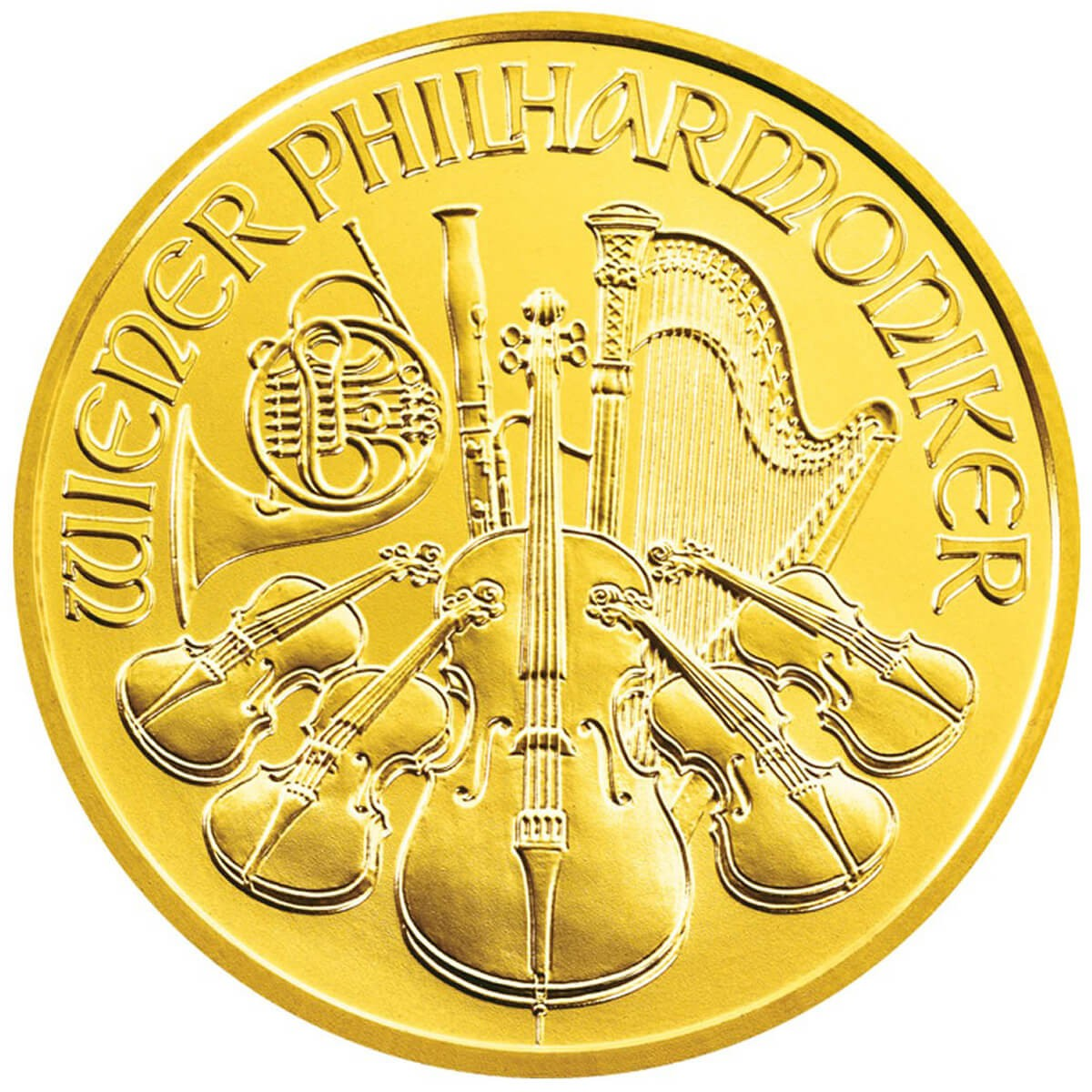 1 Ounce Gold Austrian Philharmonic