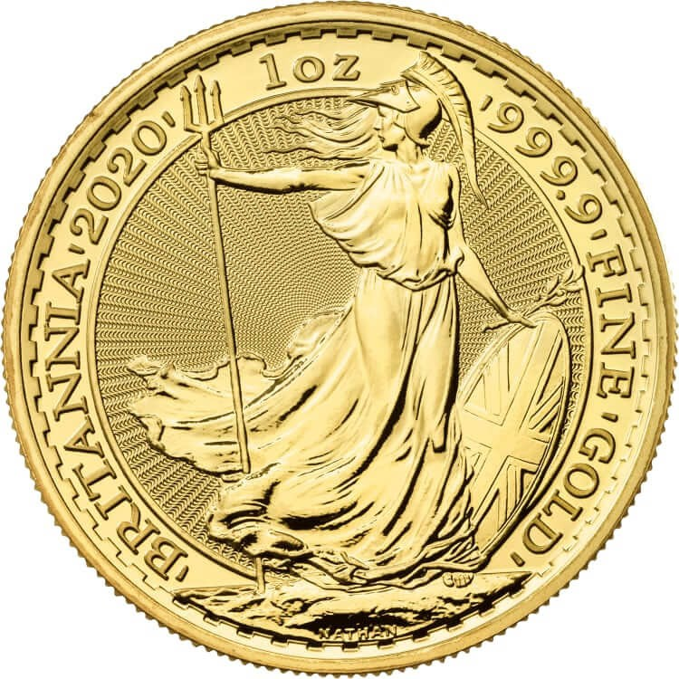 1 Ounce Gold Britannia Coin 2020