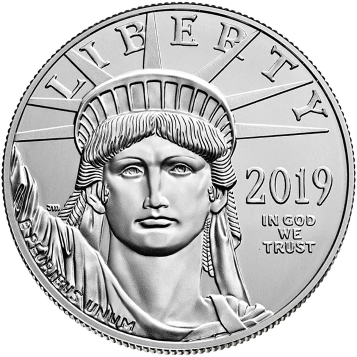 1 Ounce Platinum American Eagle 2019