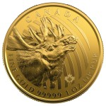 1 Ounce Gold Canadian Call of the Wild Moose 2019