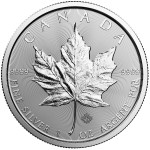 1 Ounce Silver Canadian Maple Leaf 2018