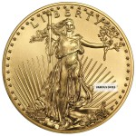 1 Ounce Gold American Eagle Back Dated