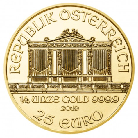 1/4 Ounce Gold Austrian Philharmonic 2019