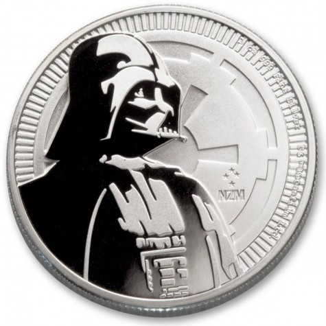 1 Ounce Silver Niue Star Wars Darth Vader 2017