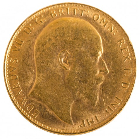 .2354 Ounce Gold British Sovereigns
