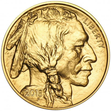 1 Ounce Gold American Buffalo 2018