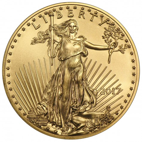 1/4 Ounce Gold American Eagle 2017