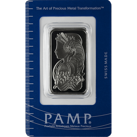 1 Ounce Palladium Bar - PAMP