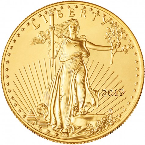1 Ounce Gold American Eagle 2019