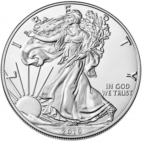 1 Ounce Silver American Eagle 2019