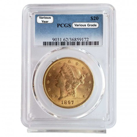 $20 Liberty Gold Double Eagle PCGS