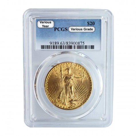 $20 Saint-Gaudens Gold Double Eagle PCGS