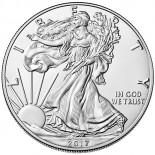 1 Ounce Silver American Eagle 2017