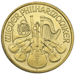 1/10 Ounce Gold Austrian Philharmonic
