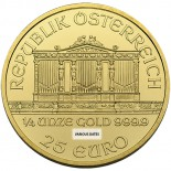 1/4 Ounce Gold Austrian Philharmonic