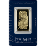 1 Ounce Gold Bar - PAMP