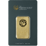 1 Ounce Gold Australian Perth Mint Bar