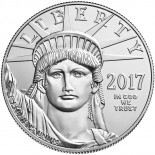 1 Ounce Platinum American Eagle 2017