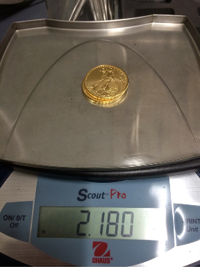 Gold Eagle Weigh